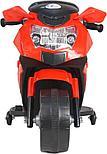 Электромотоцикл спортивный BAW 600, красный, фото 5