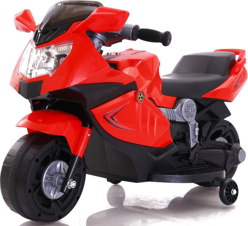 Электромотоцикл спортивный BAW 600, красный
