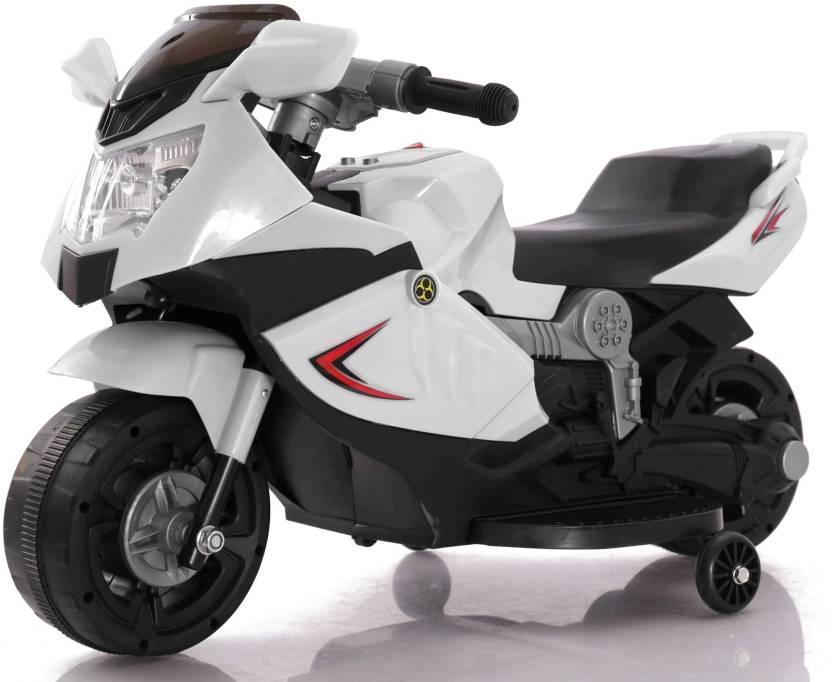 Электромотоцикл спортивный BAW 600, белый
