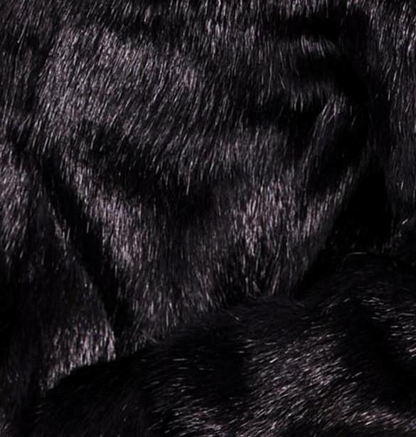 Шубка втоледи из стриженной нутрии с капюшоном - фото 4