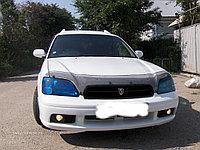 Мухобойка (дефлектор капота) Subaru Outback 2000-2003 (Carbon)
