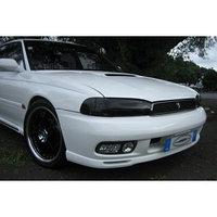 Защита фар Subaru Outback 1994-1999 тёмные