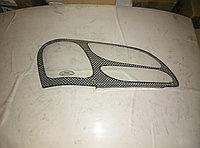 Защита фар Subaru Outback 2000-2003 карбон