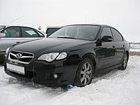 Защита фар EGR Subaru Outback 2006-2009 c чёрной окантовкой