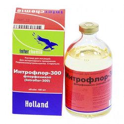 Интрофлор - 300, 100 мл