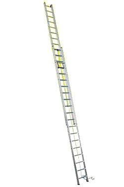 Лестница двухсекционная с канатной тягой профессиональная (Серия SR2) 3222