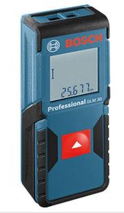 Профессиональный лазерный дальномер (30 м) Bosch GLM 30 Professional. Внесен в реестр СИ РК.