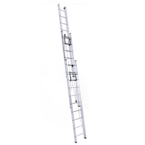 Лестница трехсекционная с канатной тягой профессиональная (Серия SR3) 3325