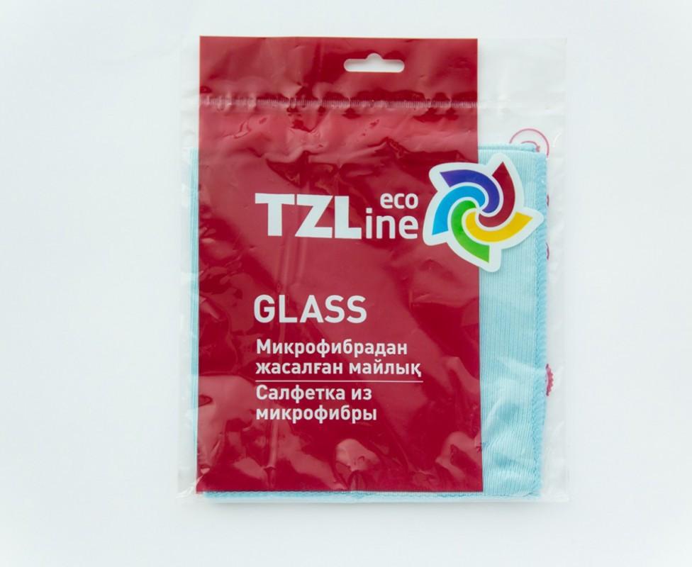 Тряпка для стекол и зеркал ТЗлайн - TZline 35*35см