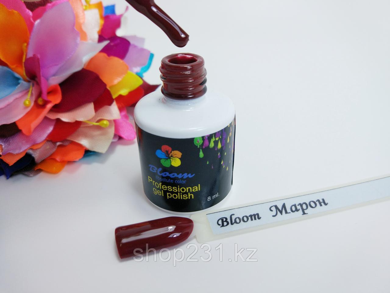 Гель-лак Bloom Марон.