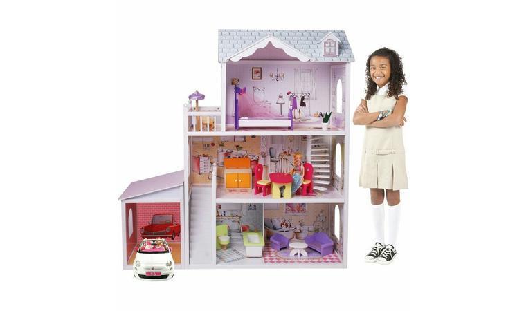 Кукольный дом с мебелью (123 см) Edufun EF4108