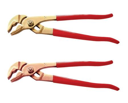 Клещи переставные с накладным шарниром (сантехнические)  искробезопасные 250 мм