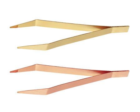 Пинцет с сужающимися рифлеными наконечниками искробезопасный 150 мм