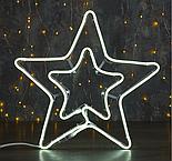 """Фигура из неона """"Звезда"""", 55 см, 3 метров, 360 LED, 220 В, КРАСНЫЙ , фото 2"""