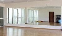 Зеркала для зала хореографии с установкой