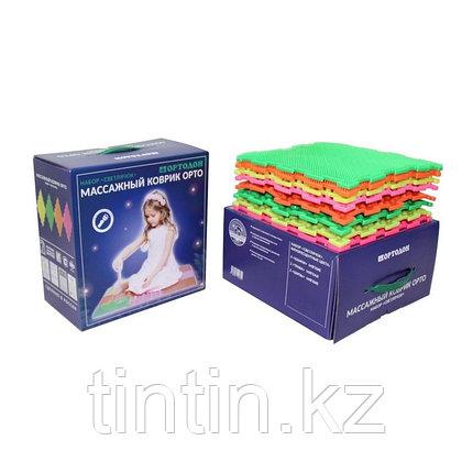 Детский массажный коврик «Ортодон», 8 модулей, набор «Светлячок» МИКС (от 3 лет), фото 2