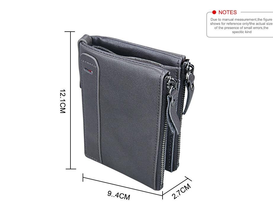 Кожаное портмоне с защитой RFID - Успейте сделать заказ!