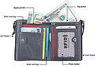 Кожаное портмоне с защитой RFID - Успейте сделать заказ!, фото 7