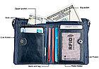 Портмоне с защитой RFID от воровства с карточек. Натуральная кожа., фото 2
