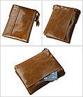Кожаное портмоне RFID protected - отличный подарок, фото 5