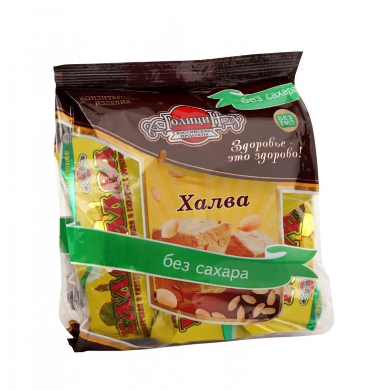 Халва подсолнечная  в шоколадной глазури  на фруктозе фасовка 180 гр