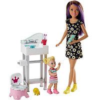 "Mattel Barbie FJB01 Барби Набор ""Няня"", фото 1"