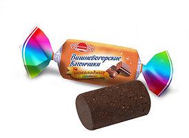 """Батончики """"Вишневогорские шоколадные"""" на фруктозе фасовка 160 гр. ."""