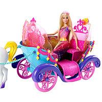 Mattel Barbie DPY38 Барби Радужная карета и кукла, фото 1