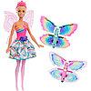 Mattel Barbie FRB08 Барби Фея с летающими крыльями