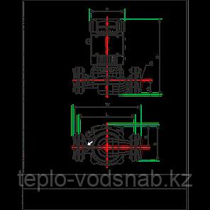 Циркуляционный насос CPH 25-50F 220 c сухим ротором, фото 2