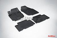 Коврики в салон Toyota RAV4 2011-2013 (Euro type) (Клетка)