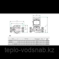Циркуляционный насос CPH 220-50F 380 c сухим ротором, фото 3