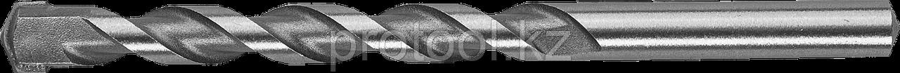 Сверло ЗУБР по бетону, цилиндрический хвостовик, 8x300мм