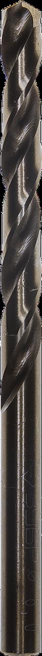 """Сверло по металлу КОБАЛЬТ, сталь Р6М5К5, класс А, ЗУБР """"ЭКСПЕРТ"""" , d=6 мм"""