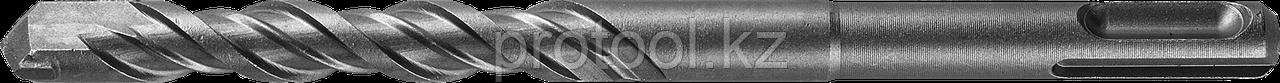 "Бур по бетону SDS-Plus ЗУБР ""МАСТЕР"", 2 резца, спираль 4С, 6х160мм"