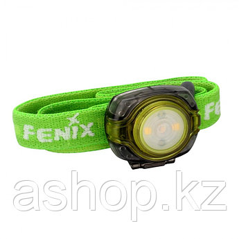 Фонарь электрический налобный Fenix HL05, Дальность луча: 4,5 м, Яркость: 8 (ярко), 3 (тускло), 0,2 (краасный)