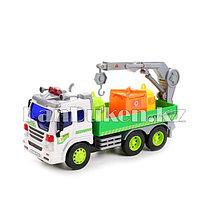 Детская музыкальная игрушка мусоровоз с краном Wenyi (большой)