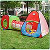 Детская игровая палатка с тоннелем, фото 3