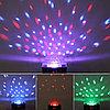 """Музыкальный светодиодный вращающийся диско-шар со встроенным MP3 плеером""""Crystal magic"""", Алматы, фото 3"""
