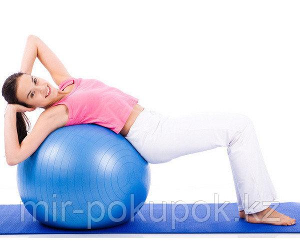 Мяч для фитнеса. Фитбол, диаметорм 75 см, Алматы - фото 4