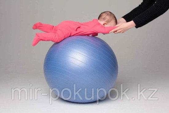 Мяч для фитнеса. Фитбол, диаметорм 75 см, Алматы - фото 5