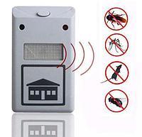Отпугиватель крыс, мышей, насекомых, комаров, тараканов ультразвуковой Pest Repelling