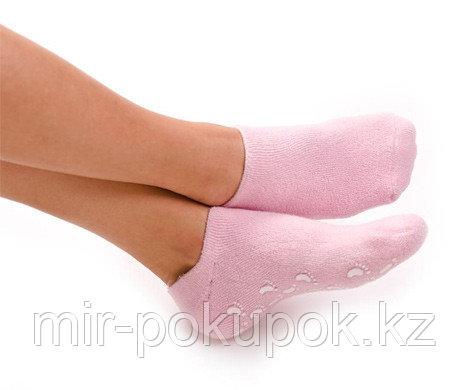 Многоразовые увлажняющие гелевые Спа носочки Spa Gel Socks.