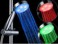 Распродажа! Светодиодная насадка для душа с трёцветной подсветкой воды Led Shower (Лэд шауэр), Алматы