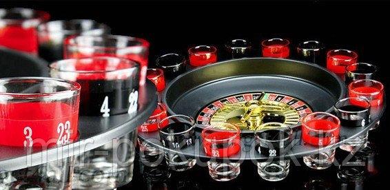 """Настольная игра """"Рюмочная рулетка"""" /  Drinking Roulette Set"""