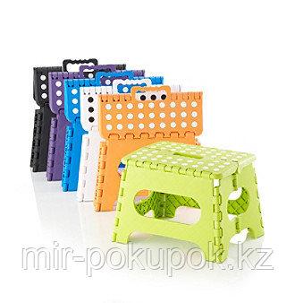 Пластиковый складной стульчик для взрослых  Folding Step Stool (Фолдин стэп стул), Алматы