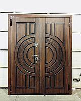 Дверь стальная двупольная с покрытием Винорит пр-во Израиль