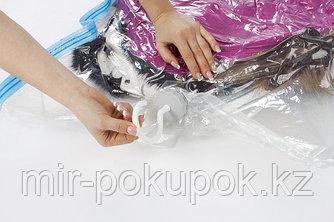 Вакуумный пакет для одежды на вешалке, 60*80 см, Алматы