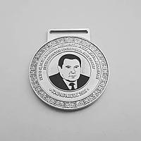 Медаль с портретом и покрытием эмаль, фото 1
