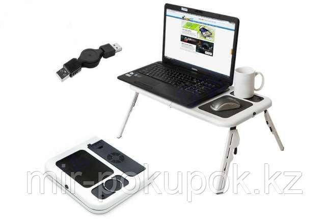 """Столик для ноутбука складной с вентиляторами """"E-Table LD09"""", Алматы"""